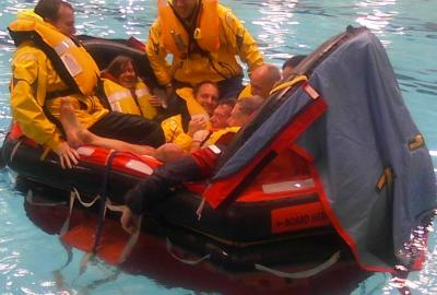 Liferaft Practice-Photo by JRousmaniere